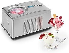 KLARSTEIN Yo & Yummy - Sorbetière & yaourtière 2-en-1, Glace en 5 à 60 Minutes, Puissance absorbée de Seulement 150 Watts,...