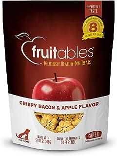 Fruitables Dog Treats Crispy Bacon & Apple Flavour - 198.5g
