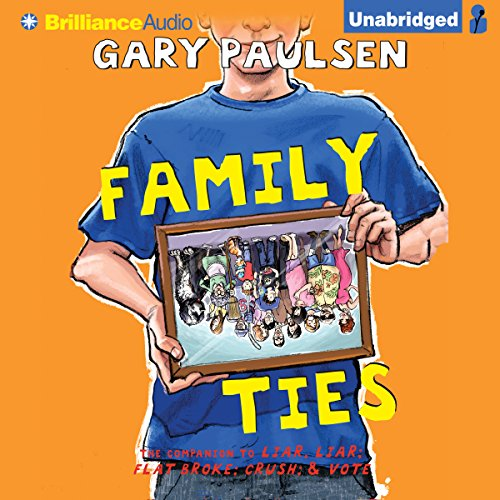 Family Ties audiobook cover art
