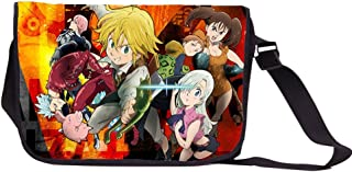 YOYOSHome Anime The Seven Deadly Sins Cosplay Satchel Messenger Bag Backpack Shoulder Bag