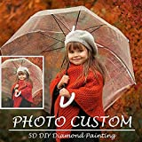 Custom Diamond Painting Kits Full Drill for Adults,Personalized Photo,Private Custom Your Own Picture Round Drill 11.8x15.7in 1 Pack by Ouyate