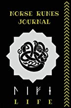 Norse Runes Journal: Viking Alphabet Notebook, Norse Mythology Notepad