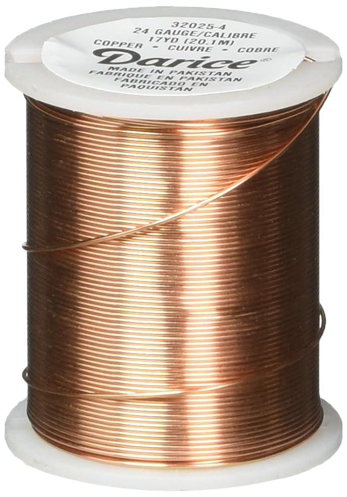 Darice Beading Wire - 24 Gauge - Copper