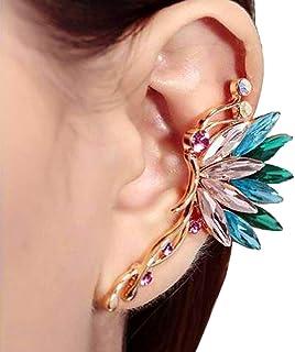 Liraly 1 Pair Fashion Women Earrings Pom Pom Ball Dangle Drop Stud Earring Jewelry Gift (Green)