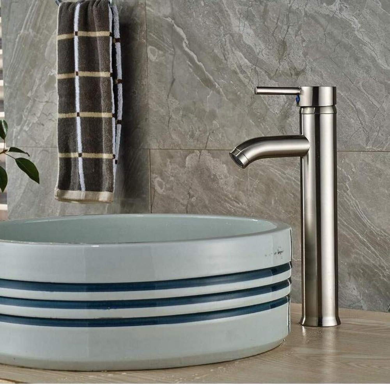 Retro Wasserhahn Waschbecken Wasserhhne Nickel Gebürstetem Messing Bad Becken Wasserhahn Becken Vanity Sink Mischbatterie