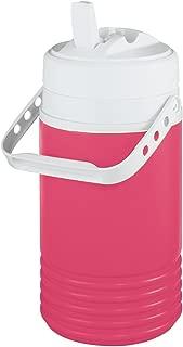 Igloo Legend Beverage Jug, 1/2 Gallon, Pink/White