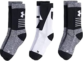 49acfbd21e3ad FREE Shipping on eligible orders. Under Armour Boys Phenom 2.0 Crew (3 Pack)