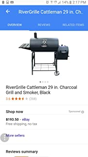RiverGrille 29 INCH Grill & Smoker