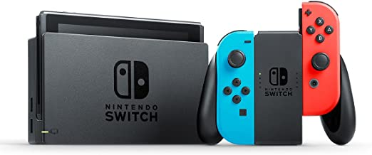 Nintendo Switch 32 GB - Neon Red and Blue