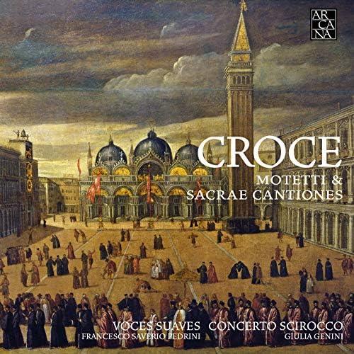 Voces Suaves, Francesco Saverio Pedrini, Concerto Scirocco & Giulia Genini