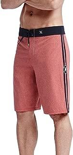 Hurley JJF Solid 21 Phantom Boardshorts Red 28 Mens Shorts