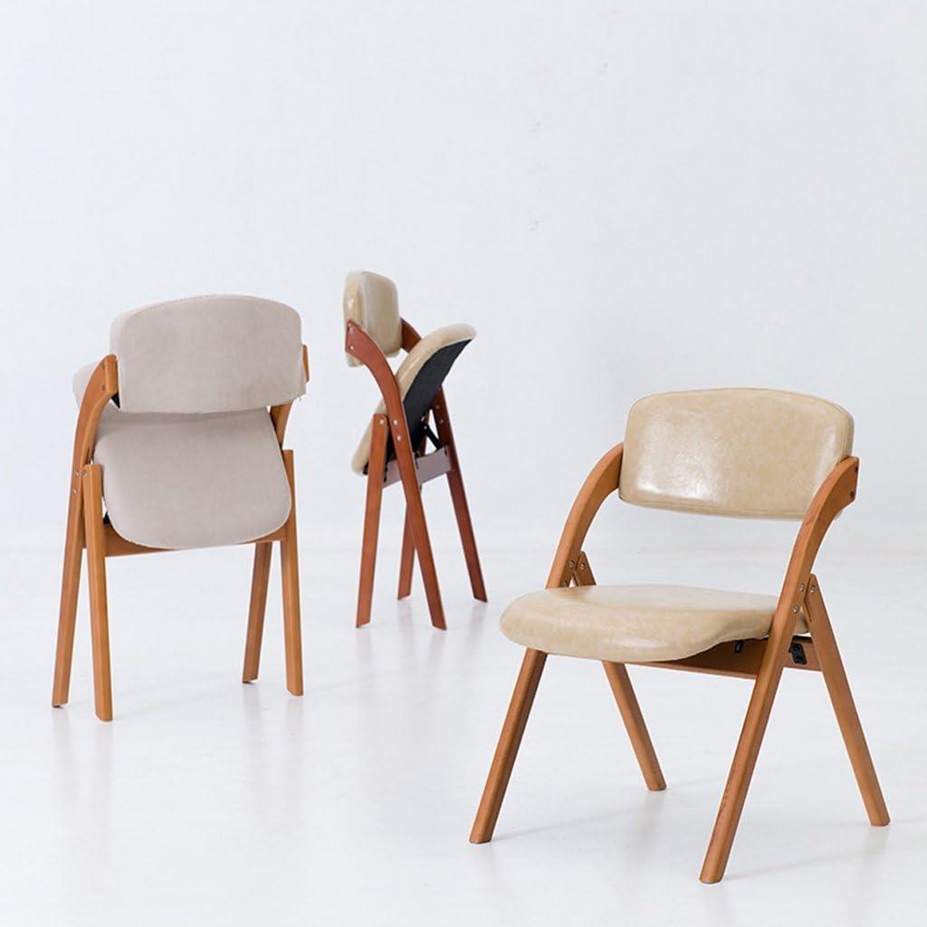 Dining chair Chaise de Salle à Manger WGZ en Bois Massif Chaise Simple Moderne Chaise café Simple C