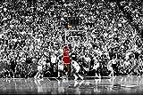 Michael Jordan Last Shot 1998, Peel and Stick Removable Wall Decals Sticker (36'x24')