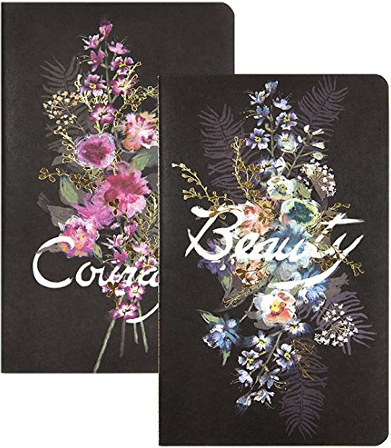 Papaya Art Beauty Bouquet Sketch and Scribble Set, Staple Notebook  Pack of 2 (SN027)
