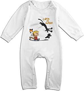 IMMAZM Baby Bodysuit Thomas Hobbes Tiger Calvin and Hobbes Long-Sleeve Romper T-Shirt