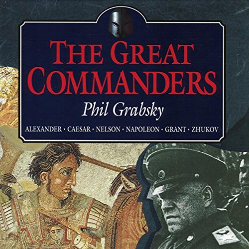 The Great Commanders audiobook cover art