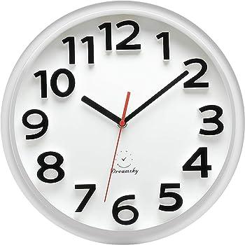 Amazon Com Wt 15 Inch Wall Clock Home Kitchen