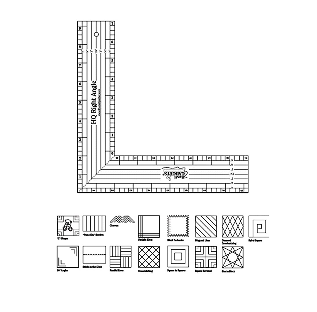 Handi Quilter Right-Angle Ruler