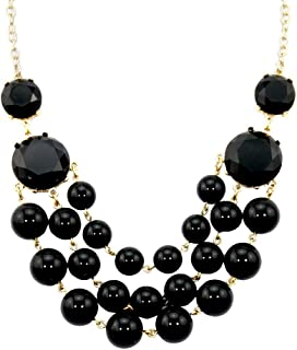 Africanbeads Women's Beads Necklace, Statement Jewelry, Chunky Necklace, Bubble Necklace