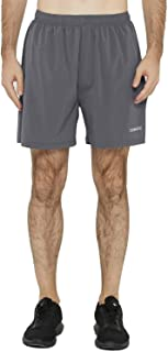 DEMOZU Men's 5 Inch Dry Fit Running Shorts Lightweight Workout Athletic Gym Shorts with Zipper Pockets