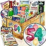 54-Geburtstag Geschenke - Geschenke zum 54. - DDR Produkte