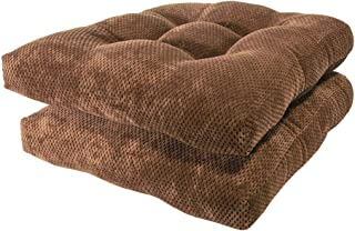 Arlee - Delano Chair Pad Seat Cushion, Memory Foam, Non-Skid Backing, Durable Fabric, Superior Comfort and Softness, Reduc...