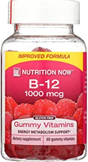 Nutrition Now Vitamin B12 Raspberry, 60 ct
