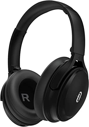 Noise Cancelling Headphones, [2019 Upgraded 45 Hrs Playtime]Taotronics Active Noise Cancelling Bluetooth Headphones Over ear with High Clarity Sound Powerful Bass for Travel Work TV PC Cellphone