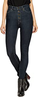 Womens Super Stretch Comfort High Waist High Rise Skinny Jeans