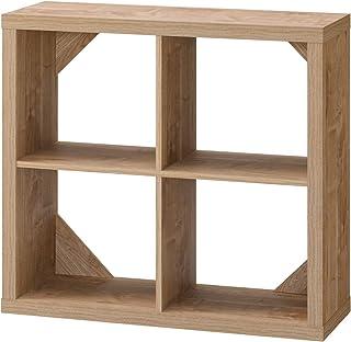 朝日木材加工 シェルフ SHELBOIS 幅78.7cm 奥行29cm 高さ72.7cm ナチュラル 背面化粧 SBC-7580SH