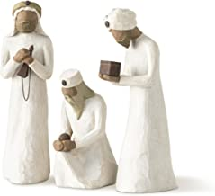 Willow Tree The Three Wisemen, sculpted hand-painted nativity figures, 3-piece set
