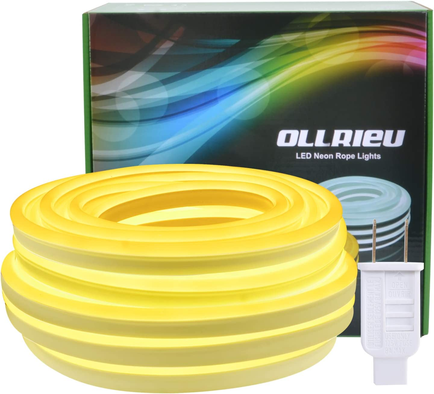 50ft Neon Rope Lights Outdoor LED Direct stock discount Strip High quality new Waterproof Lighting Indo