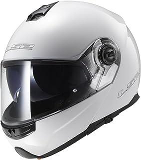 LS2 503251002XXL FF325 Casco Strobe Solid, Color Blanco, Tamaño XXL