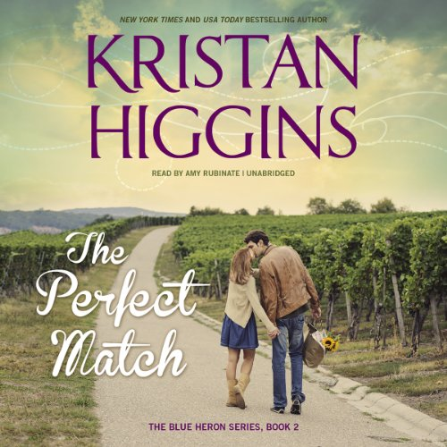 The Perfect Match     The Blue Heron Series, Book 2              De :                                                                                                                                 Kristan Higgins                               Lu par :                                                                                                                                 Amy Rubinate                      Durée : 12 h et 12 min     1 notation     Global 4,0