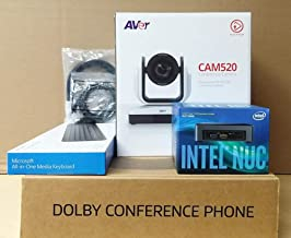 BlueJeans Aver CAM520 Dolby Phone with Intel NUC Room Bundle