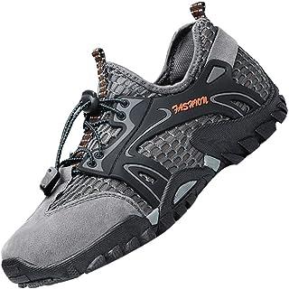 Men's Ponrea Mesh Hiking Shoes Breathable Water Shoes Trekking Sandals Outdoor Sneakers