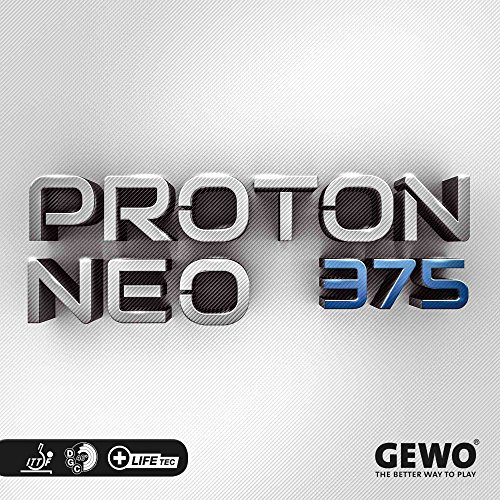 GEWO Belag Proton Neo 375 Optionen 2,0 mm, rot
