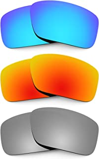 9411c7b83d Revant Combo de 3 pares de lentes polarizados, de reemplazo, para Arnette  Big Deal