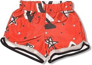 Shorts Leveza Coral Green - Infantil Menina