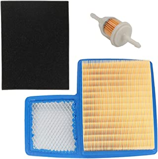 Harbot JN6-E4450-01 Air Filter with Pre-Cleaner Fuel Filter for Yamaha G16 G20 G21 G22 G29 4-Cycle 301cc 357cc Engine Drive Gas Golf Cart Tune Up Kit 1996-Up