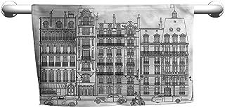 flybeek Towel Paris,Building Facades in France,Outside Towel Rack for Pool