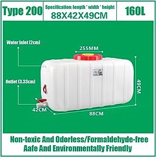 HWhome Portable Grande Capacité Réservoir d'eau 25L/45L/80L/110L/160L/200L Jerrican Seau d'eau Portatif Récipient De Stock...