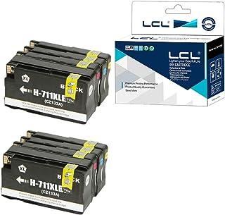 LCL Cartucho de Tinta Compatible 711XL 711 XL High Yield Pigment ...