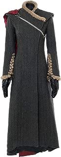 Game of Thrones Costume GOT Season 7 Daenerys Targaryen Dress Cape