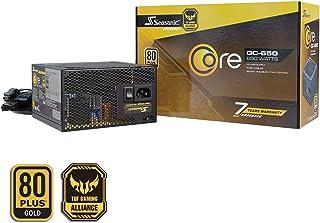 Seasonic CORE-GC-650 Non-Modular PC Power Supply 80PLUS Gold 650 Watts