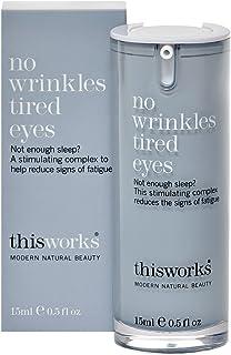 これにはしわ疲れ目の15ミリリットルの作品はありません (This Works) - This Works No Wrinkles Tired Eyes 15ml [並行輸入品]