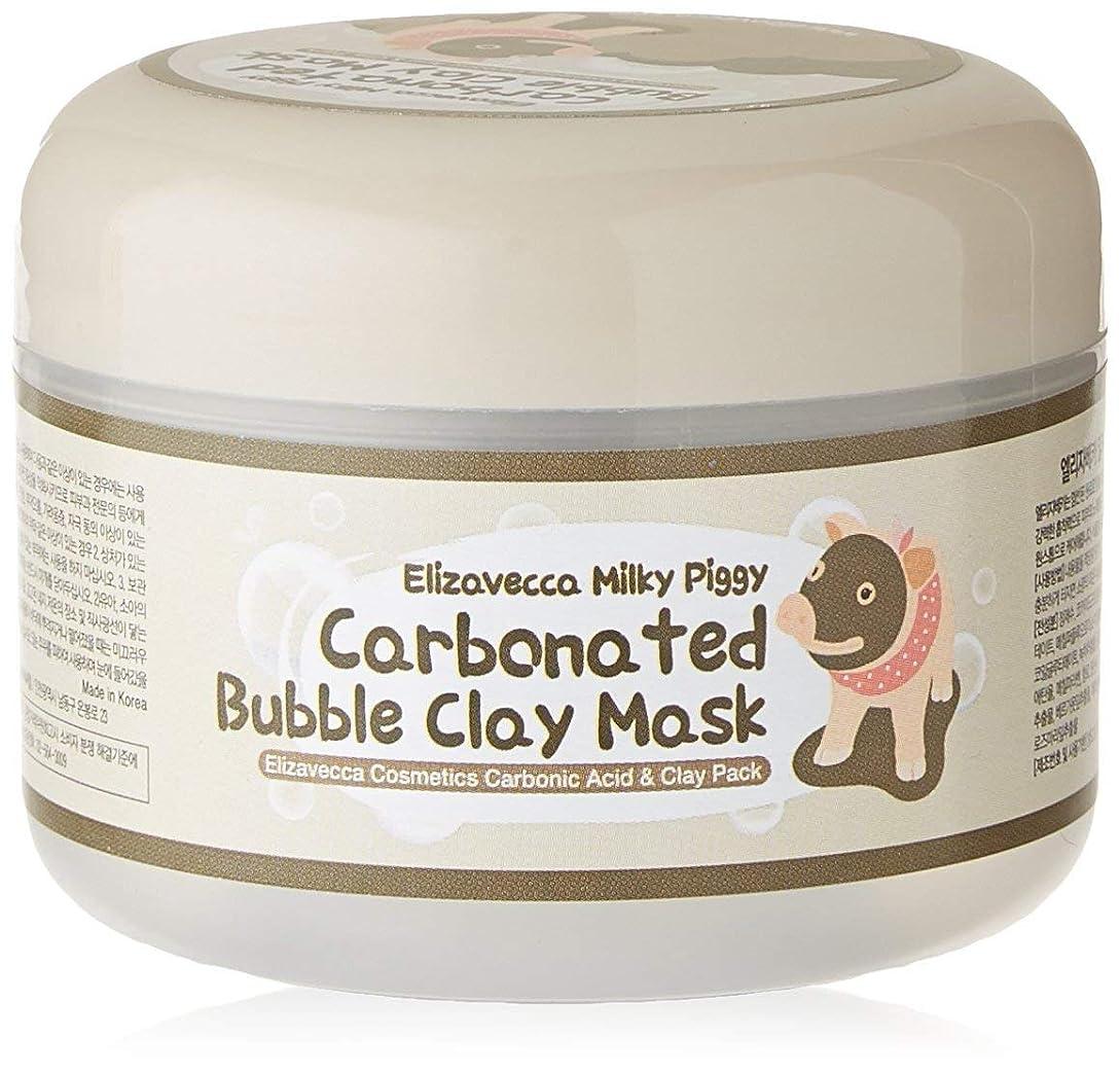 クラックポット日絶望的なElizavecca Milky Piggy Carbonated Bubble Clay Mask 100g