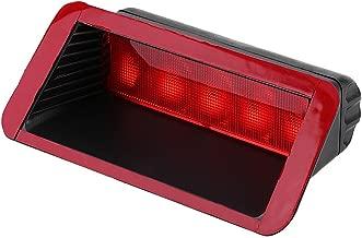 Qiilu Coche Alto montaje Trasera Tercera cola de freno Luz trasera Lámpara Rojo