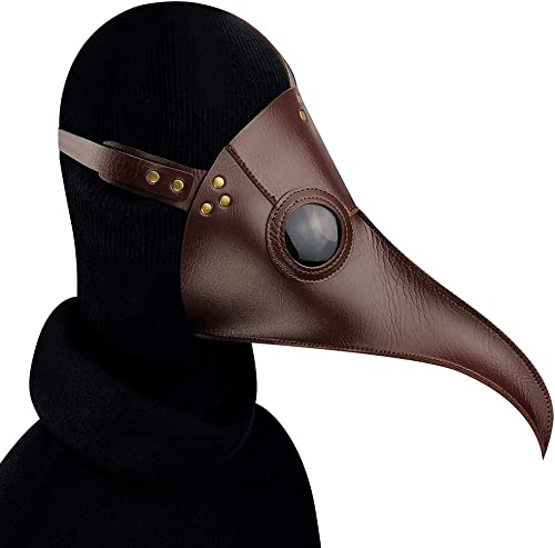 toma Peste de Halloween Doctor Doctor Doctor máscara de pájaro pico de nariz larga Cosplay Steampunk Party Costumes Props