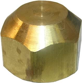 LASCO 17-4057 5/8-Inch Brass Flare Cap